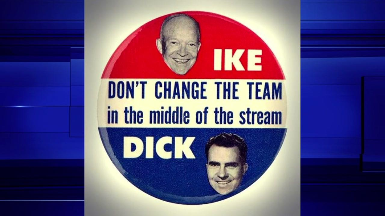 Campaign buttons have always been a hot property at conventions