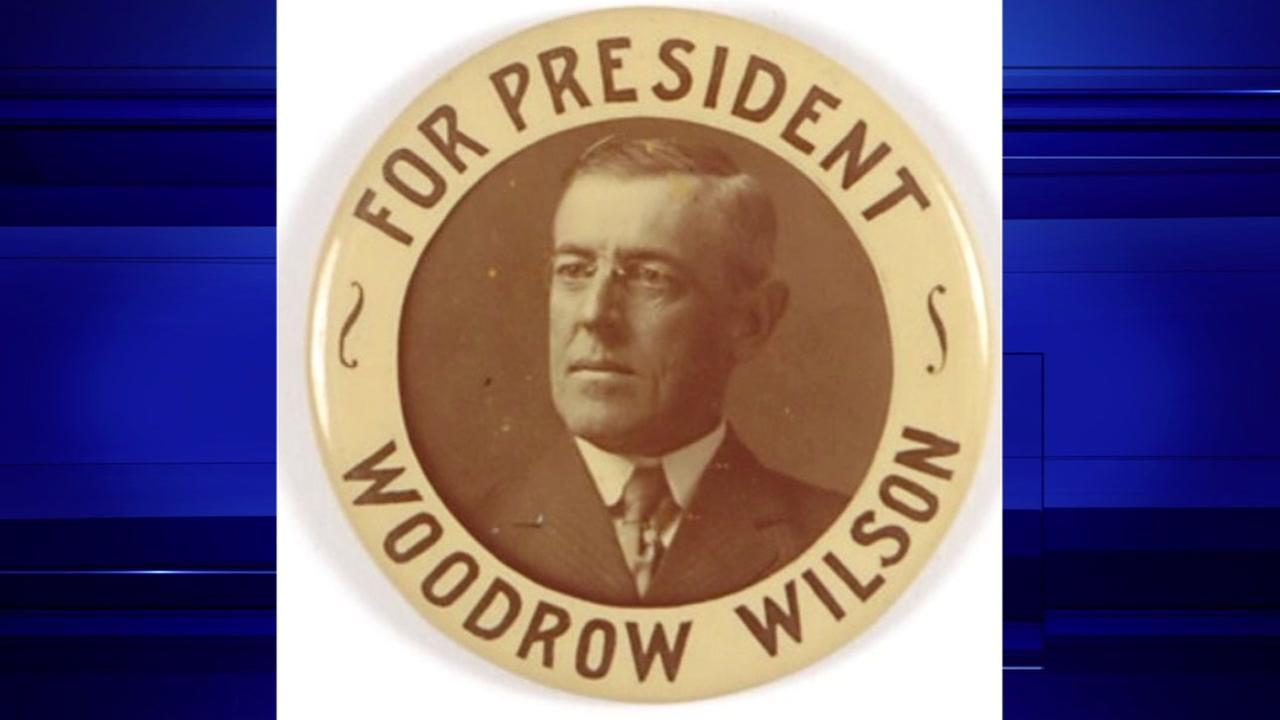 Woodrow Wilson, President from 1913-1921