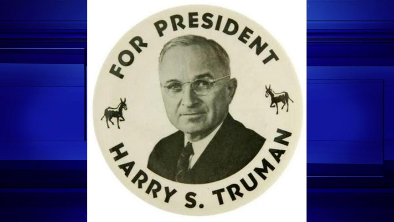 Harry S. Truman, President from 1945-53