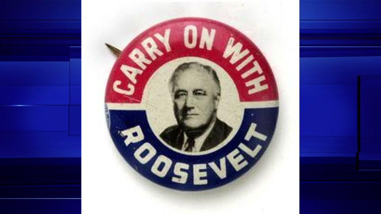 Franklin Roosevelt, President from 1933-45