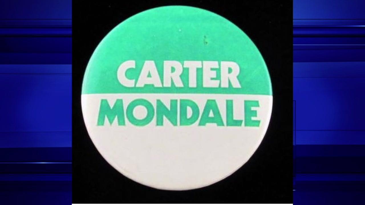 Jimmy Carter President from 1977-81. Walter Mondale, V.P.