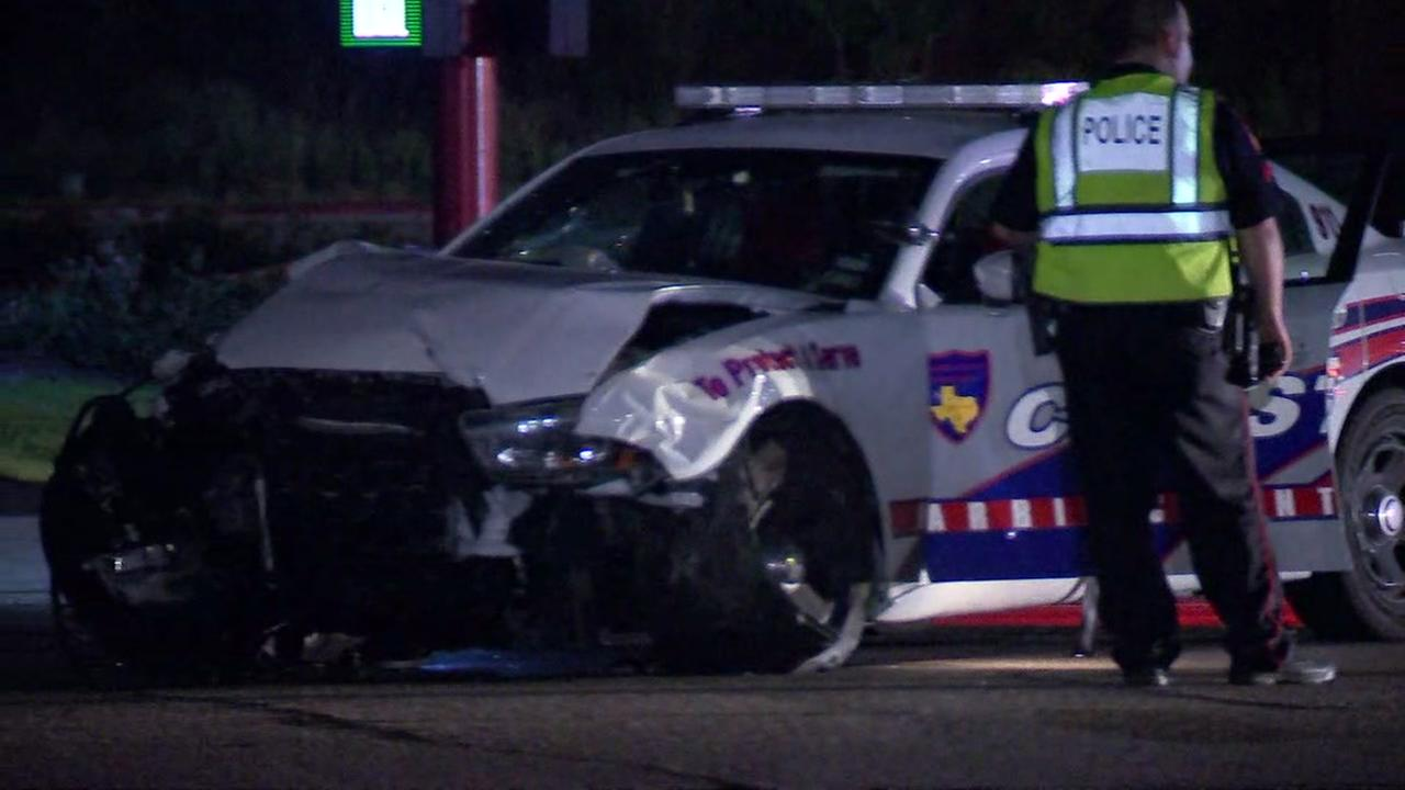 Deputy constable injured in accident on FM 1960