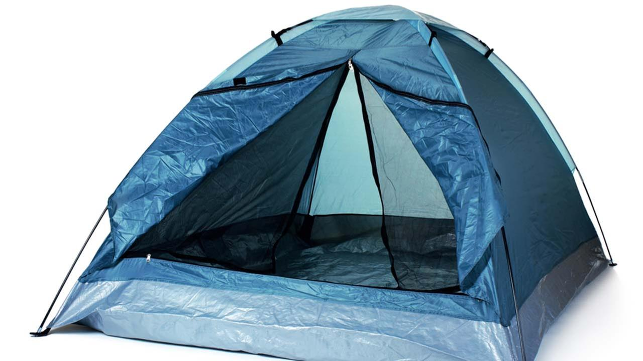 A stock photo of a tent