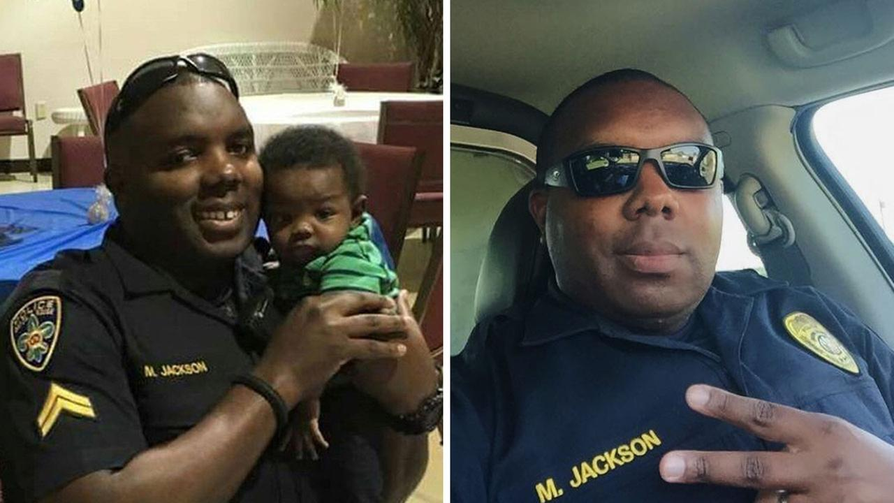Montrell Jackson was one of three officers killed by a gunman in Baton Rouge, Louisiana on July 17.