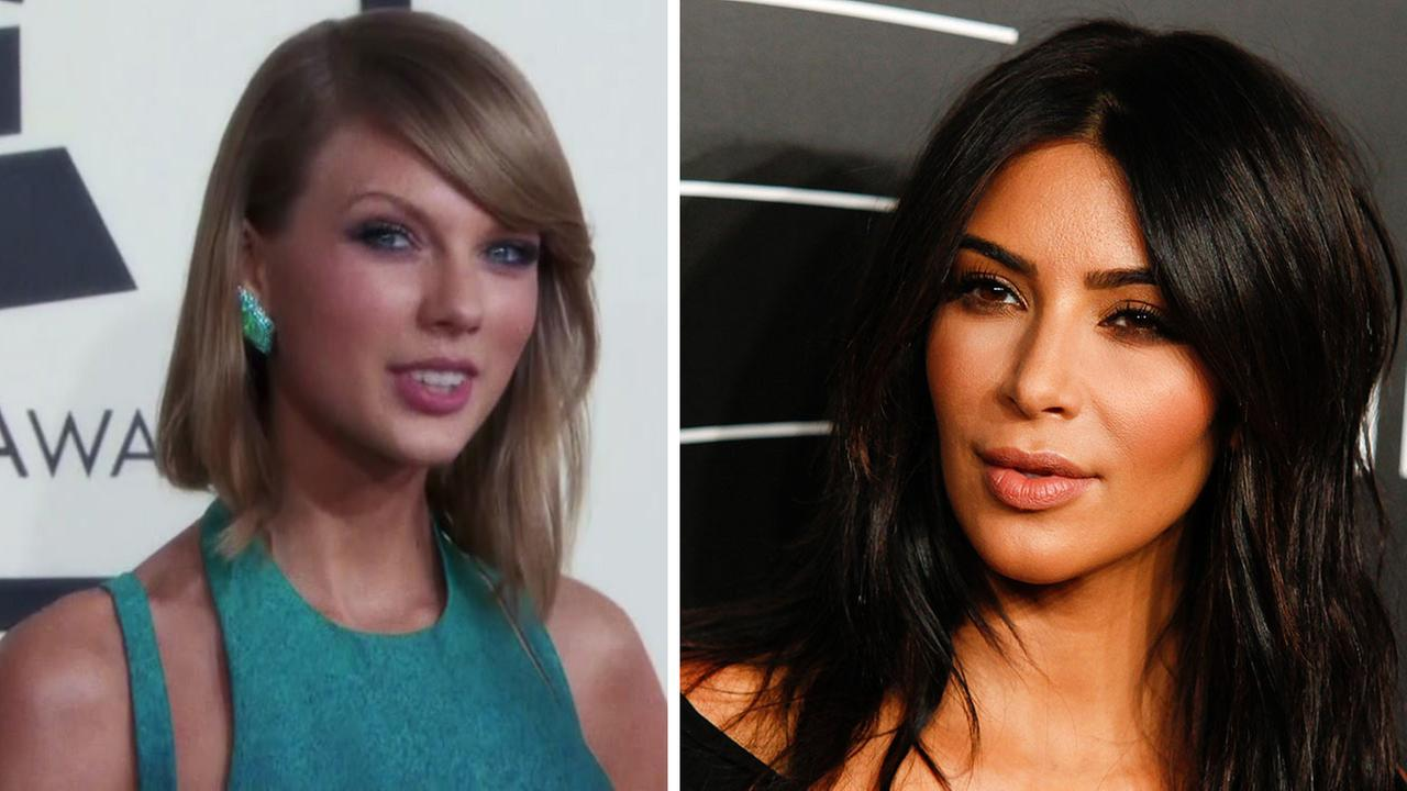 Taylor Swift and Kim Kardashian
