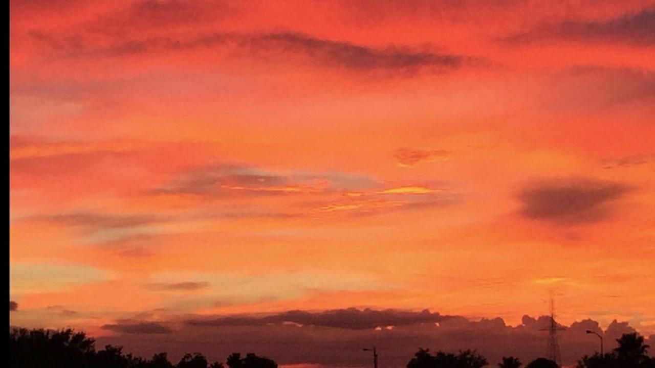 Spectacular July sunsets