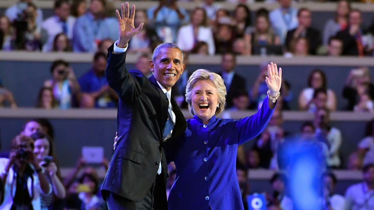 Barack Obama - Hillary Clinton