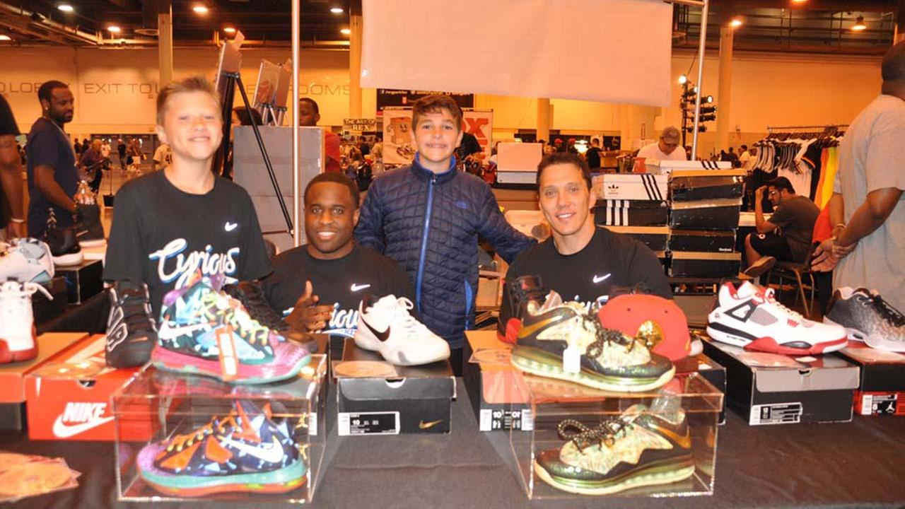 Houston comes out for annual sneaker summit