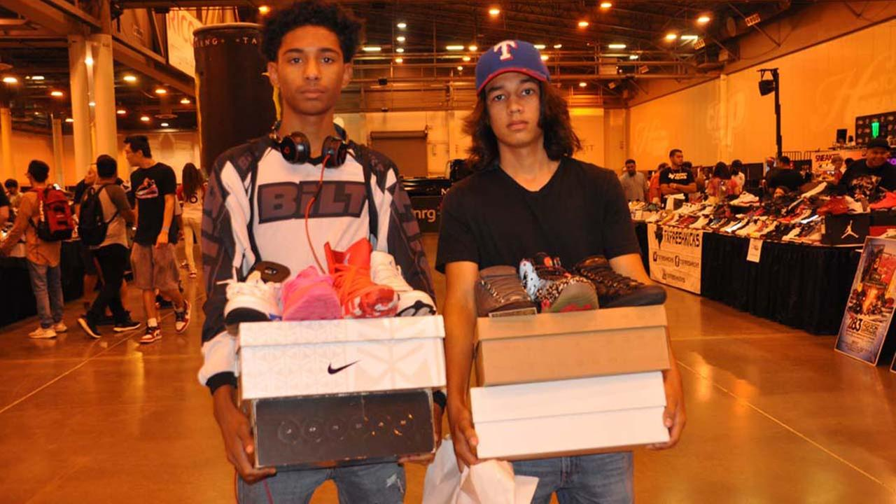 Houston sneaker heads come out for annual expo