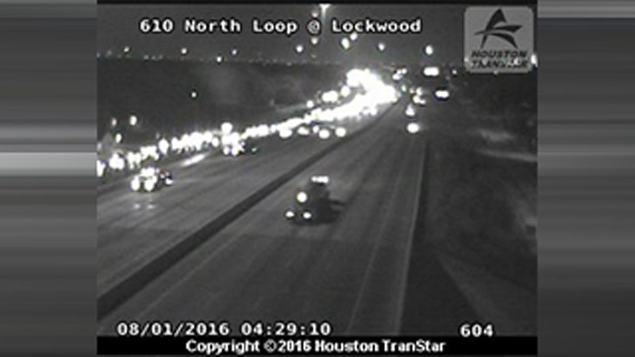 North Loop at Lockwood motorcycle accident