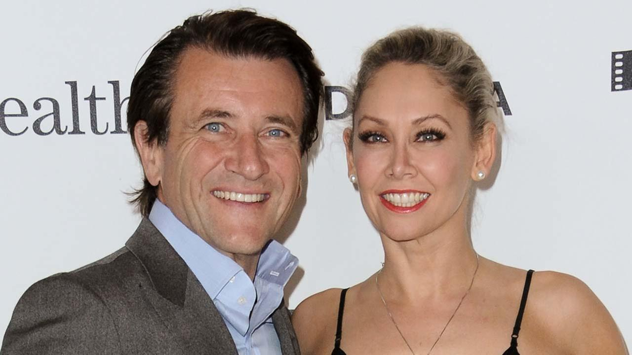 Robert Herjavec, left, and Kym Johnson