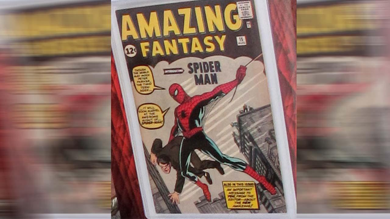 A photo of a Spider-Man comic