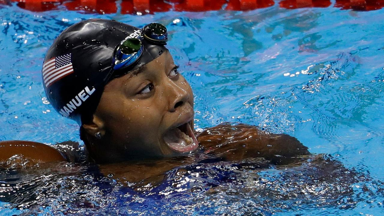 HER-story: Simone Manuel wins gold in the women's 100 ...