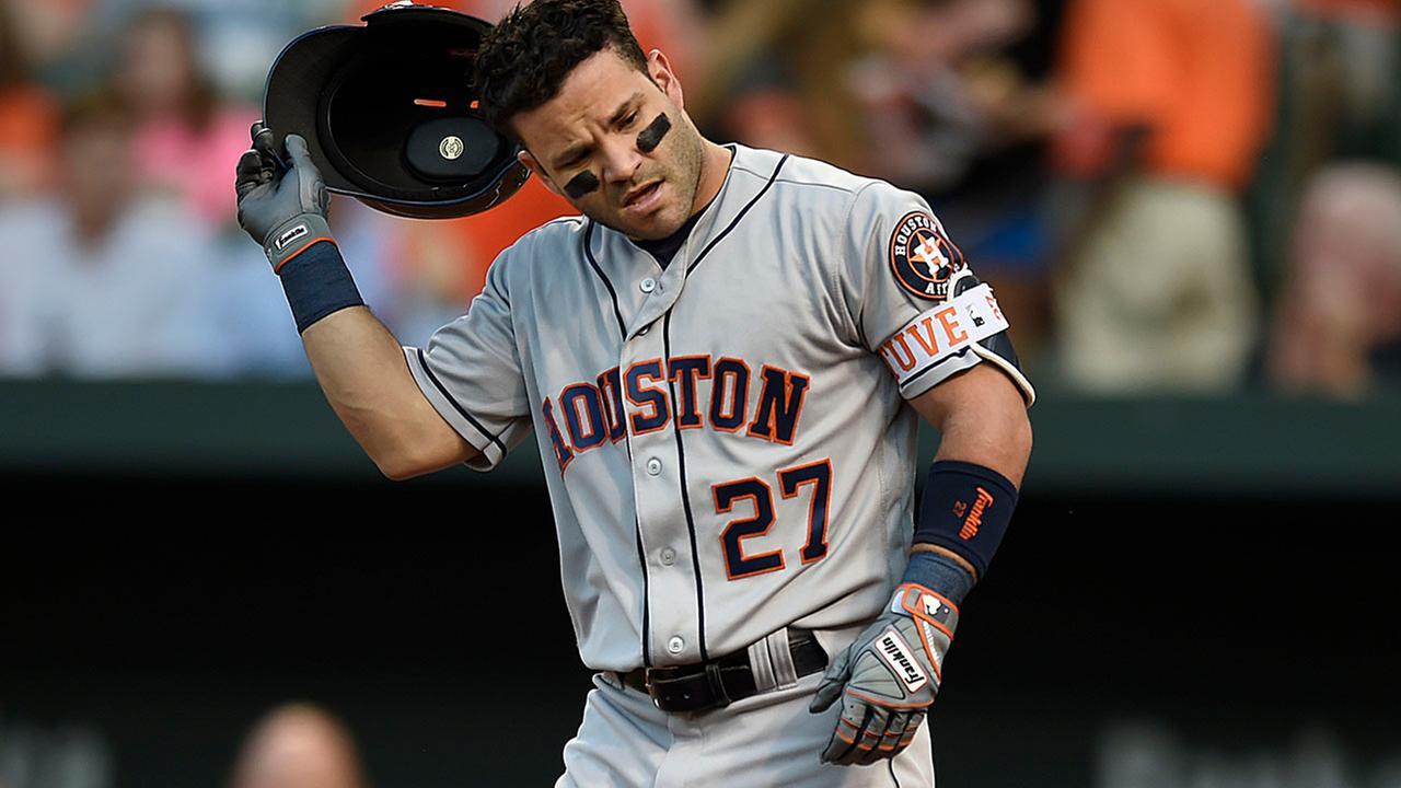 Astros and Orioles baseball
