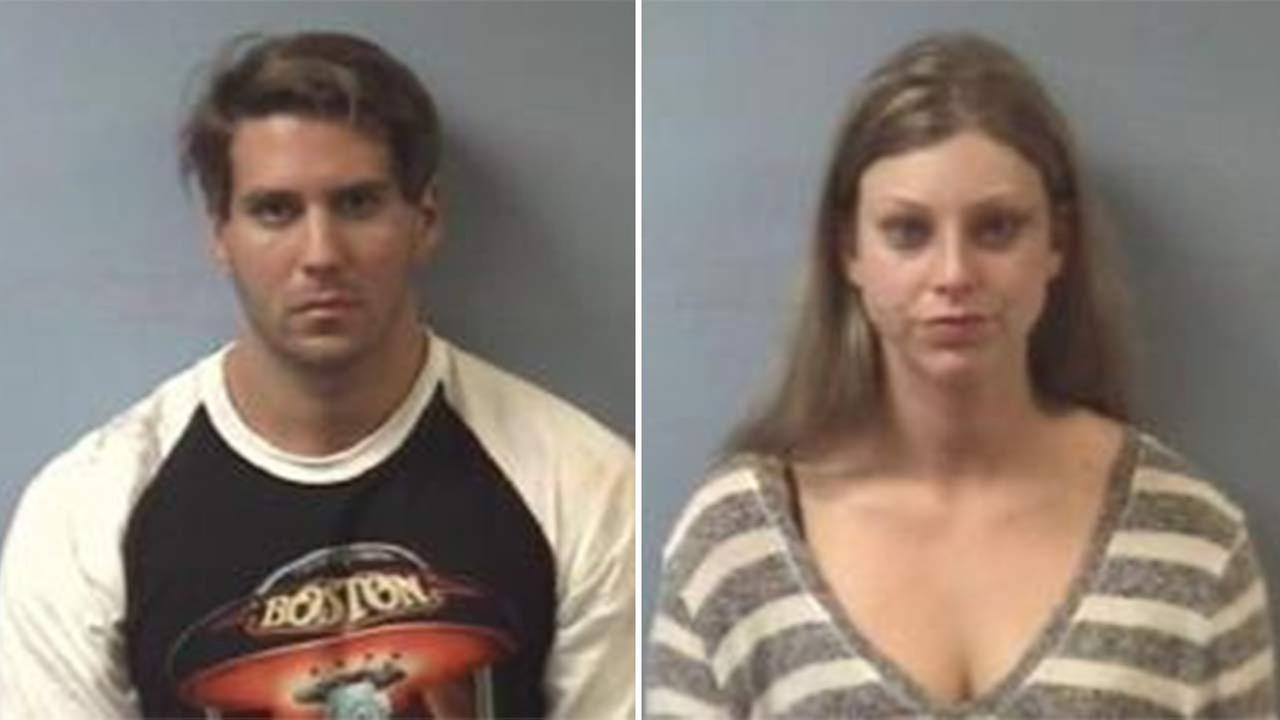 Joshua Gene Leal and Kayla Marisa Seloff were charged with criminal trespass.