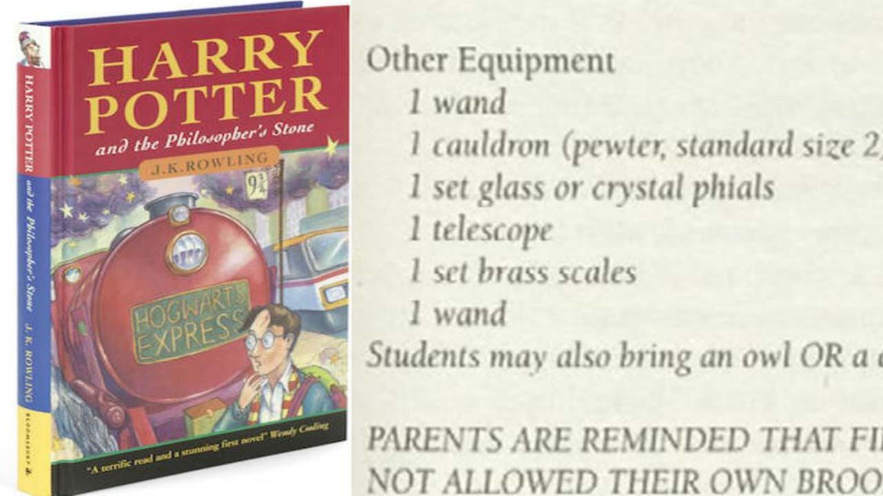 Harry Potter Book With Typo ~ Typo in your harry potter book might be worth thousands of