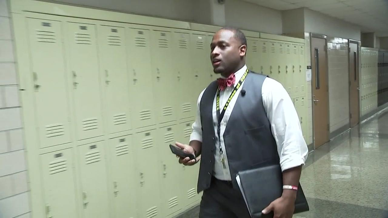 HISD assistant principal has an interesting back story
