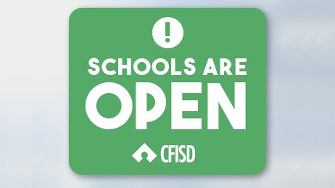CFISD schools open today