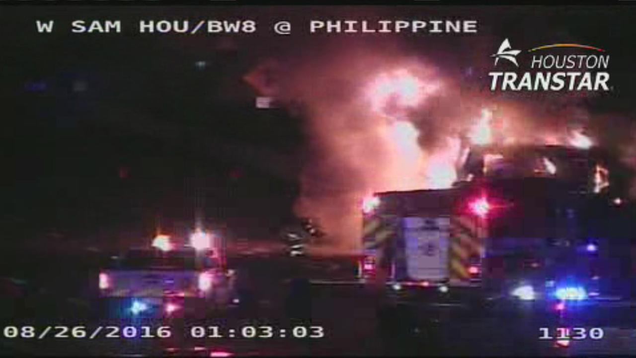 Philippine St fire