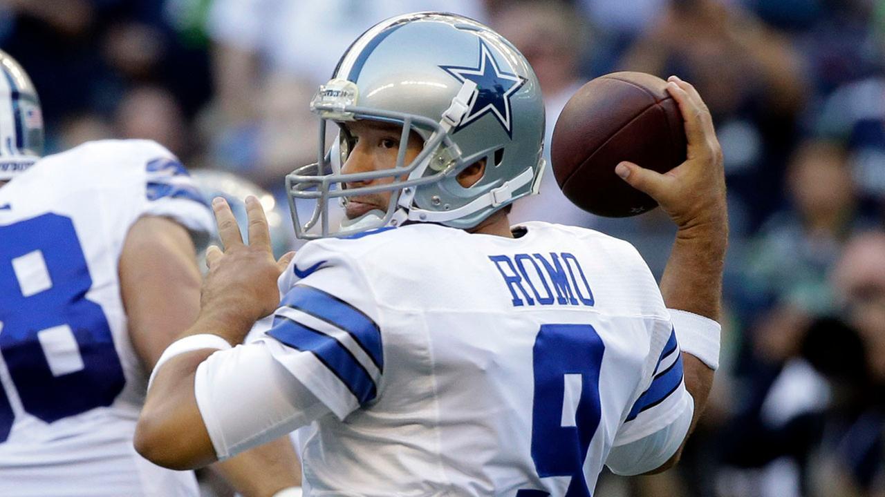 Tony Romo MRI reveals broken bone in back