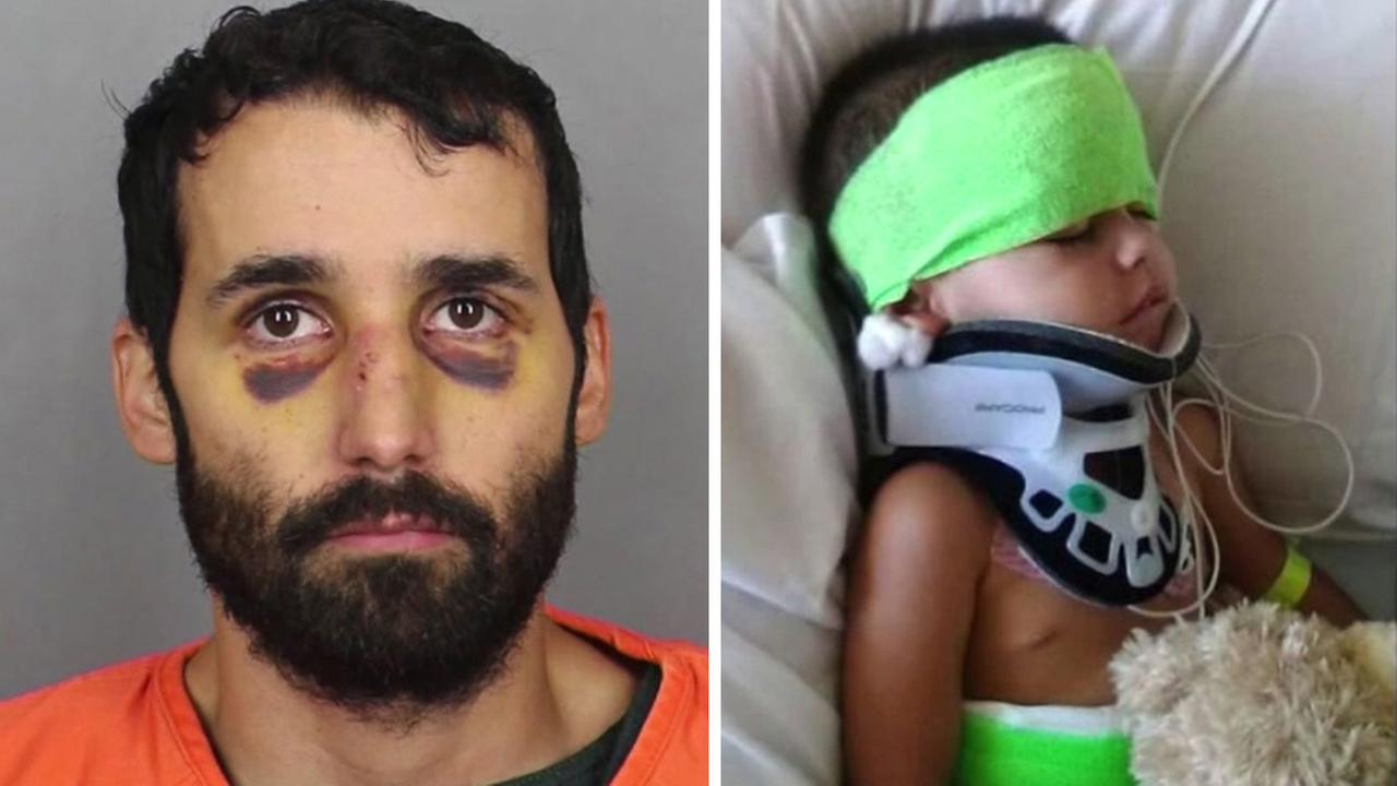Father allegedly tries to kill toddler in wreck