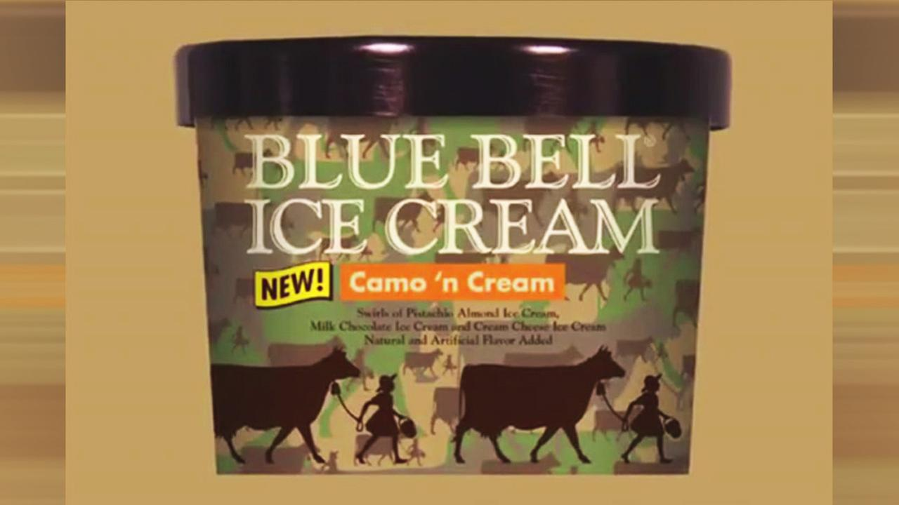 Blue Bell Ice Cream - Camo N Cream