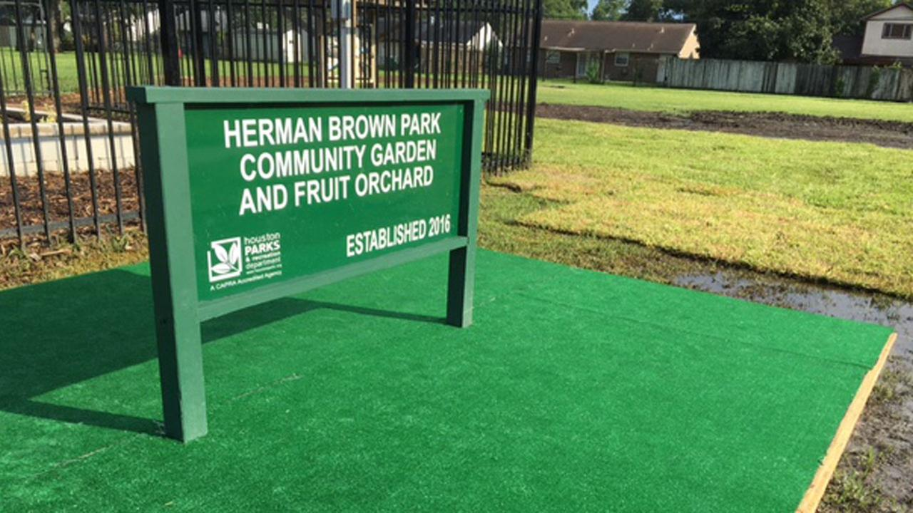 Herman Brown Park has some new addtions