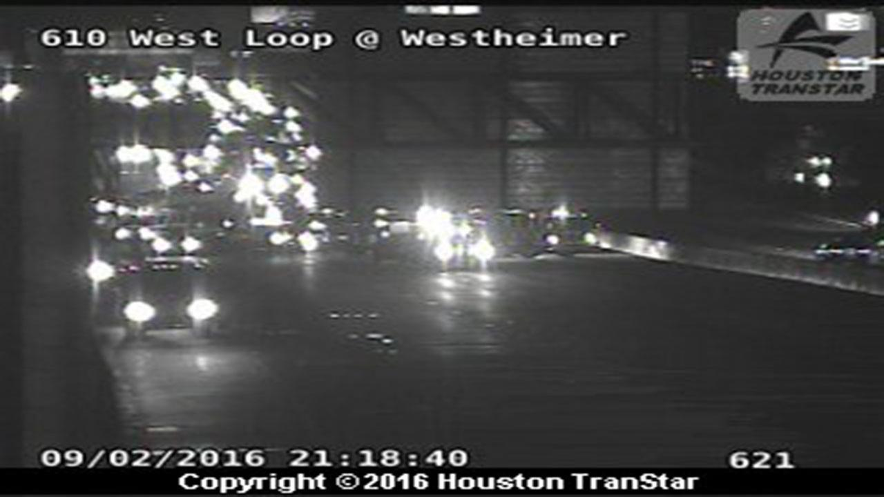 Accident on 610 and Westheimer
