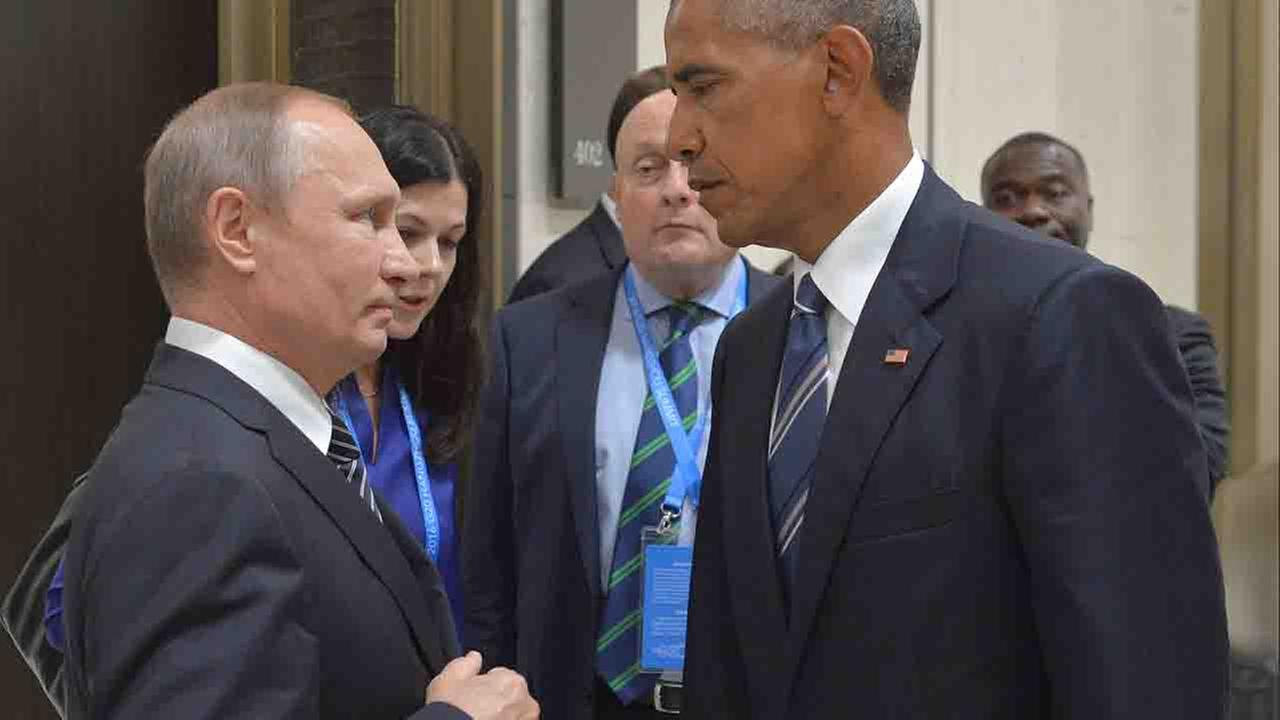 Obama, Putin, agree to continue seeking deal on Syria