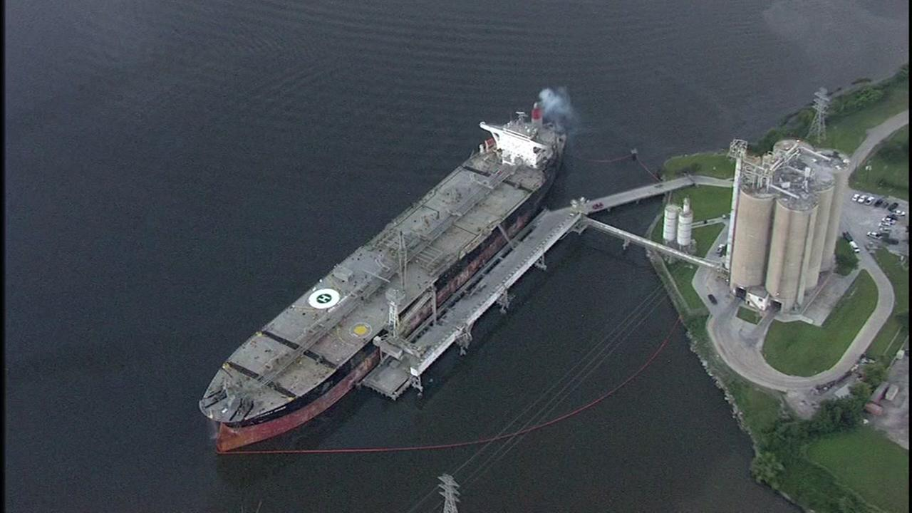 Houston Ship Channel reopens after tanker fire closed it