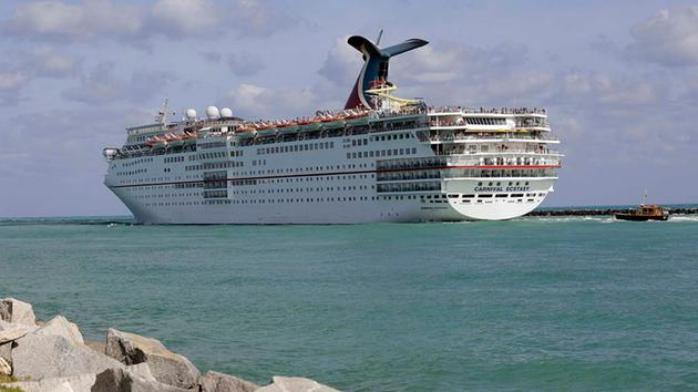 Upstate New York Woman Goes Overboard On Carnival Ecstasy Cruise - Lady overboard on cruise ship