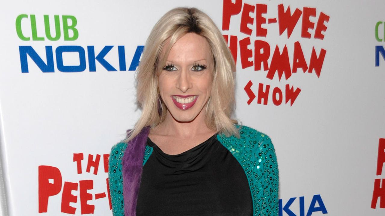 Actress Alexis Arquette arrives at the opening night of The Pee-Wee Herman Show in Los Angeles on Wednesday, Jan. 20, 2010.