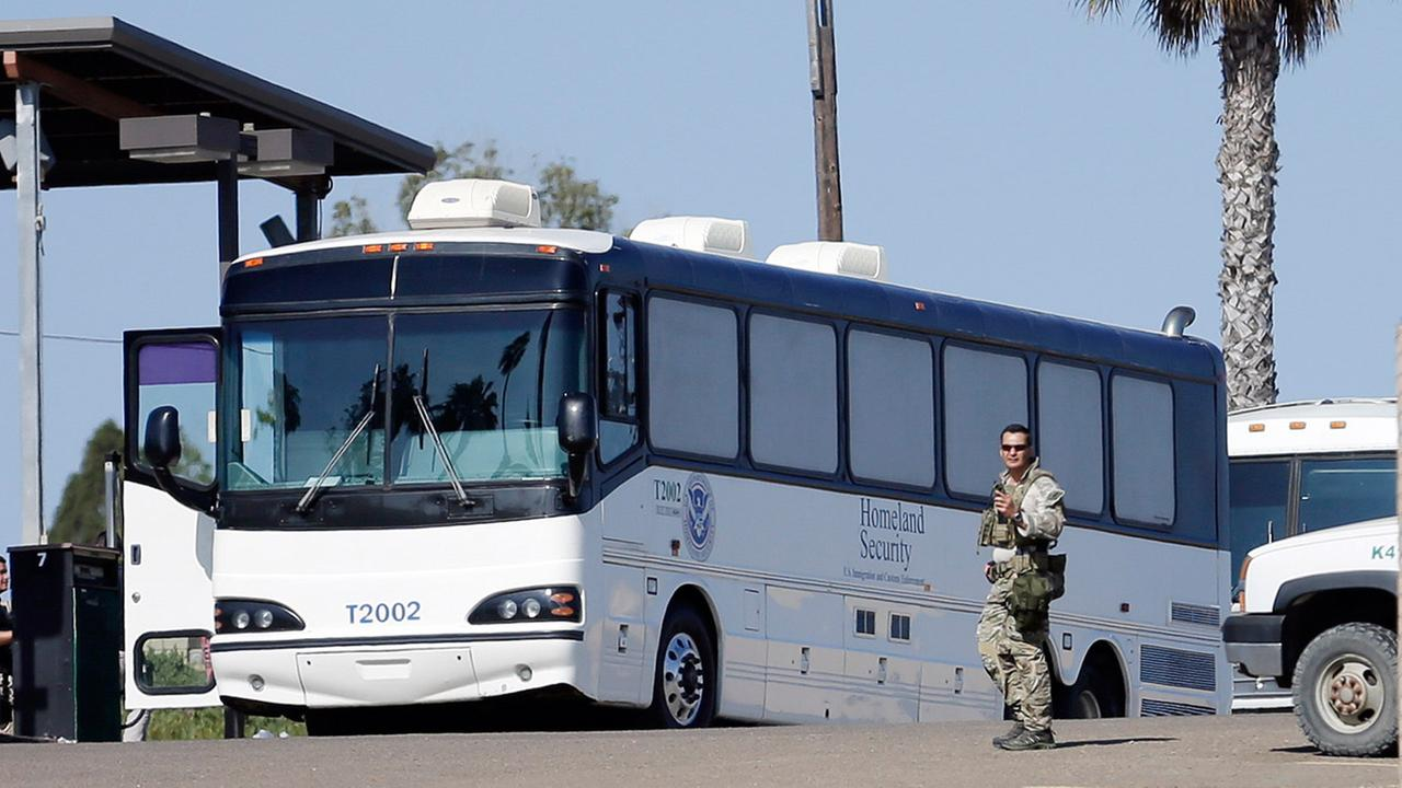 Homeland Security buses