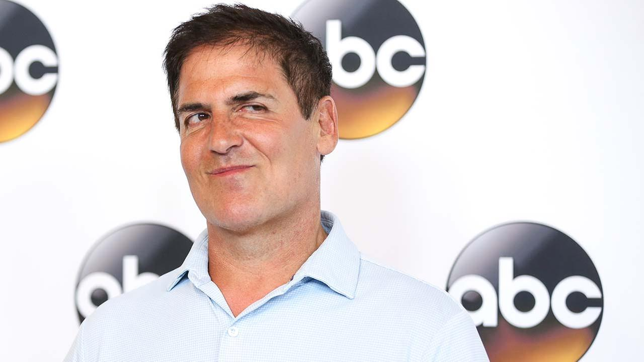 Mark Cuban, a cast member in the television series Shark Tank, arrives at the Disney/ABC Television Critics Association summer press tour on Thursday, Aug. 4, 2016, in Beverly Hi