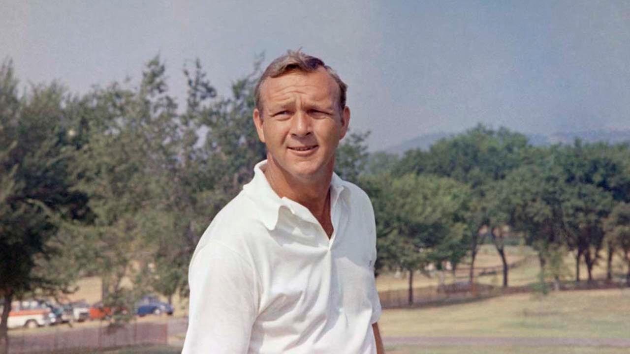 Golfer Arnold Palmer from Latrobe, Pa., poses in 1970.ASSOCIATED PRESS