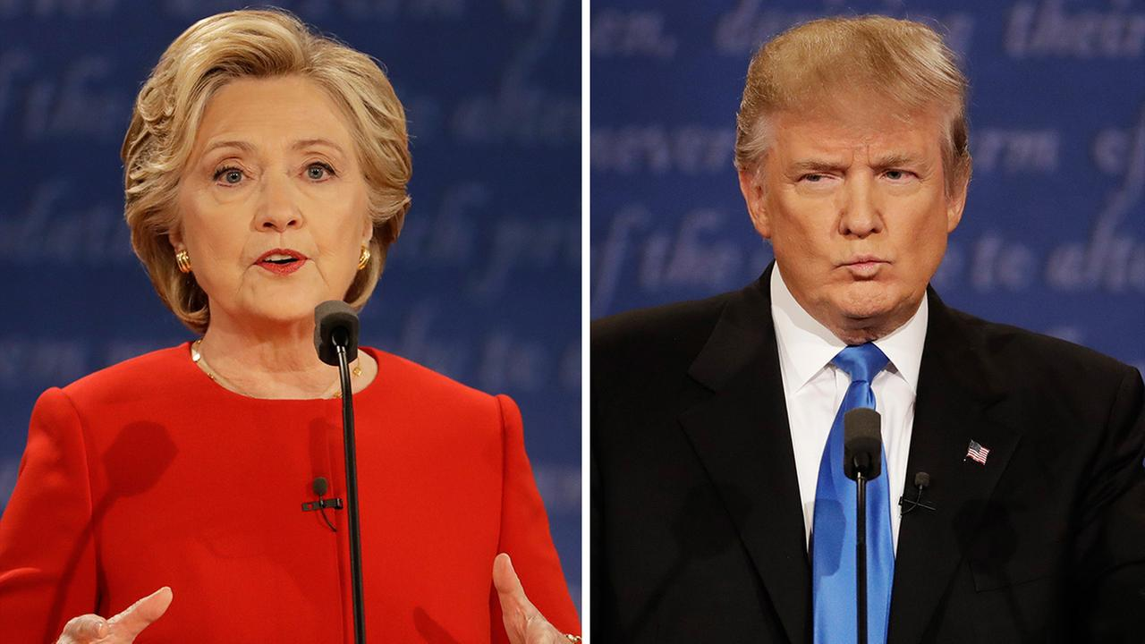 Hillary Clinton and Donald Trump - First Debate