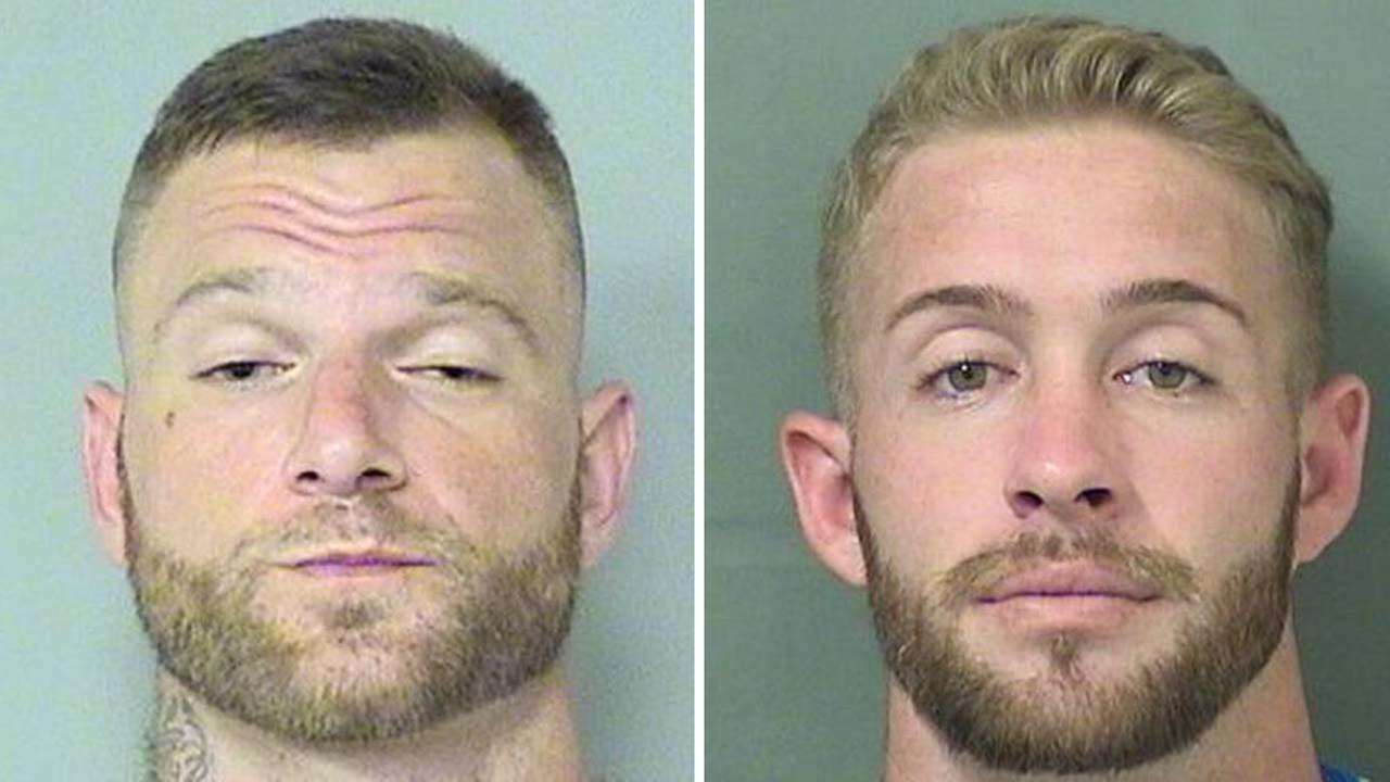 2 arrested after posting gator video