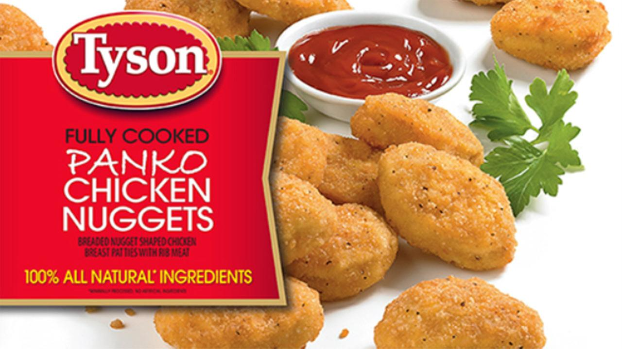 Tyson Foods Chicken Nugget Recall