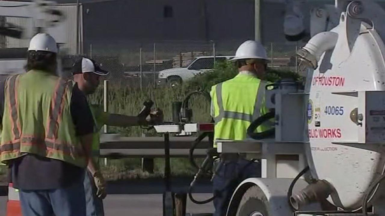 Repair complete on Houston water main