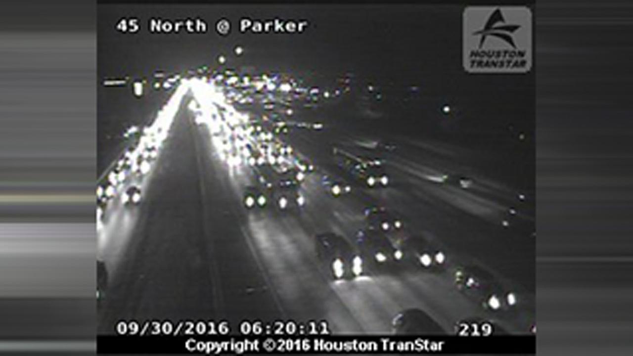 Parker accident