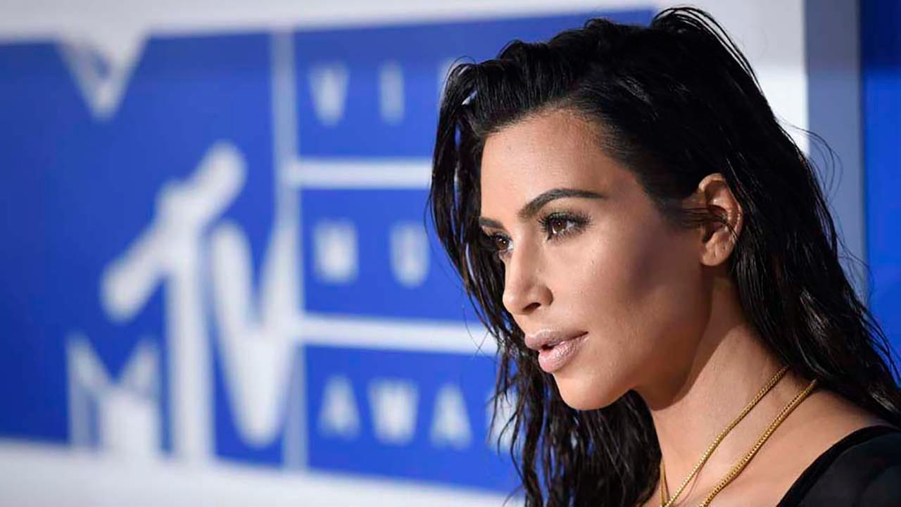Kim Kardashian West arrives at the MTV Video Music Awards at Madison Square Garden on Sunday, Aug. 28, 2016, in New York. (Photo by Evan Agostini/Invision/AP)Evan Agostini/Invision/AP