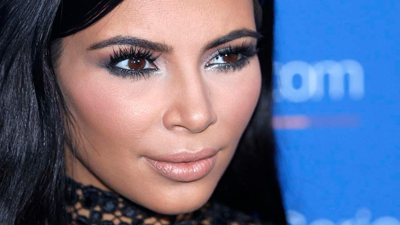 FILE - In this June 24, 2015, file photo, Kim Kardashian poses during a photo call at the Cannes Lions 2015.AP