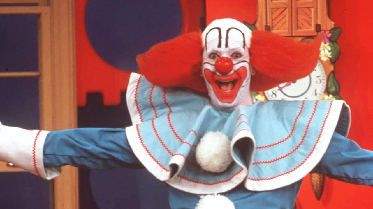 Larry Harmon performs as Bozo The Clown in this undated photo. Bozo was born 50 years ago, and is now recognized as the worlds most famous clown.AP Photo/HO