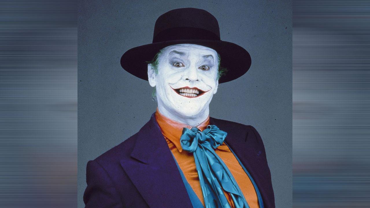Jack Nicholson stars as the maniacal Joker in Warner Brothers epic action-adventure film :Batman. June 1989 photo.AP Photo/Herb Ritts