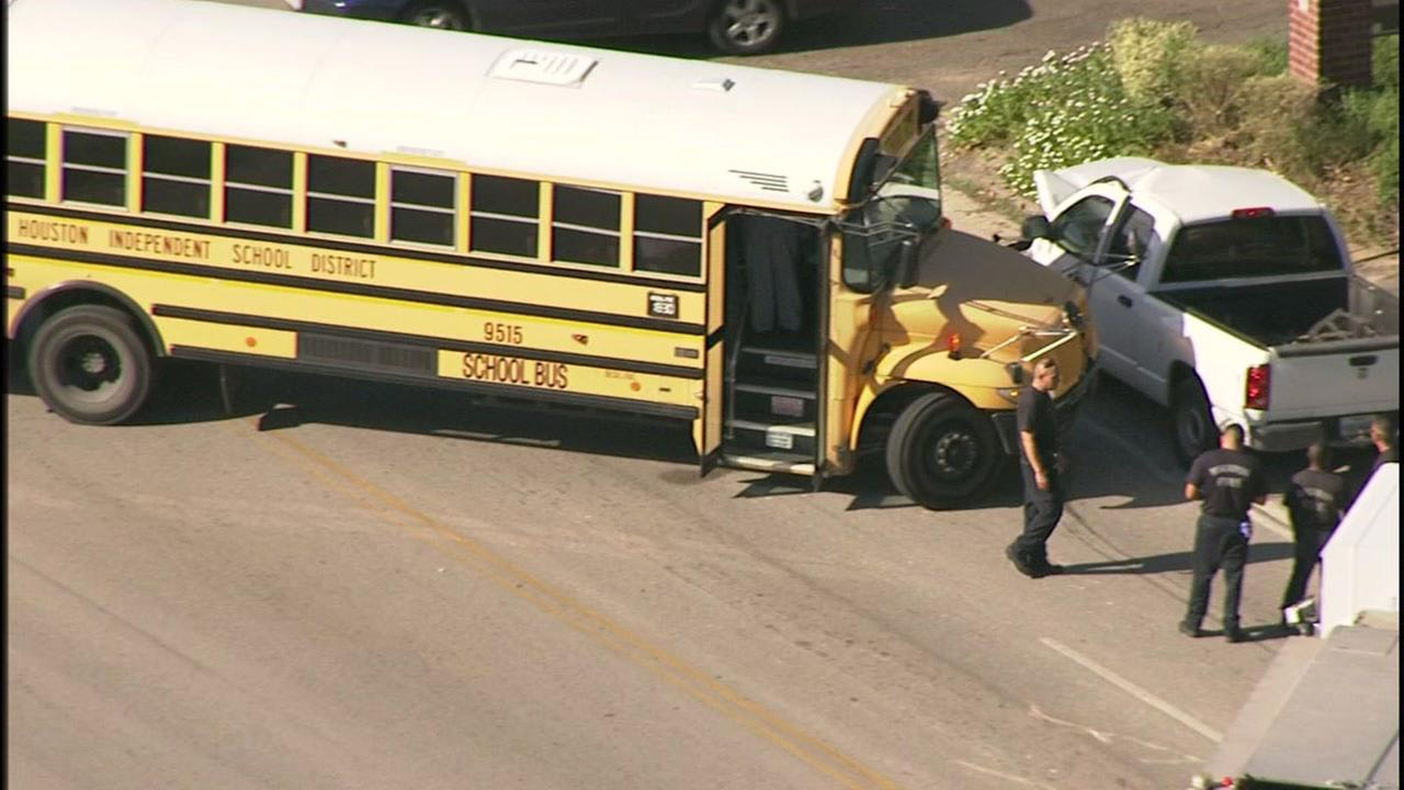 HISD bus accident