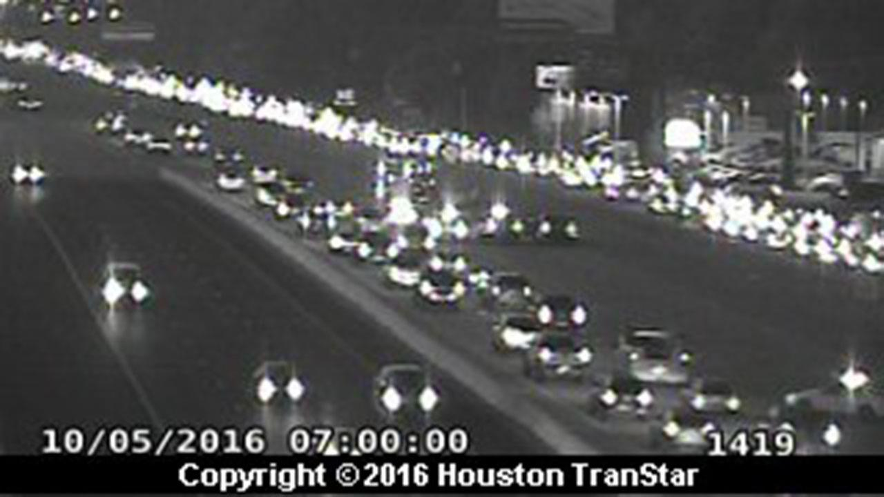 Accident at Tomball Tollway has three southbound lanes blocked at Northpoint, expect delays