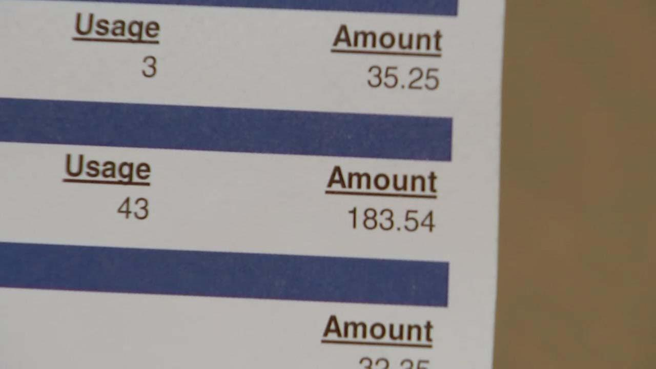 Residents left with outrageous water bills