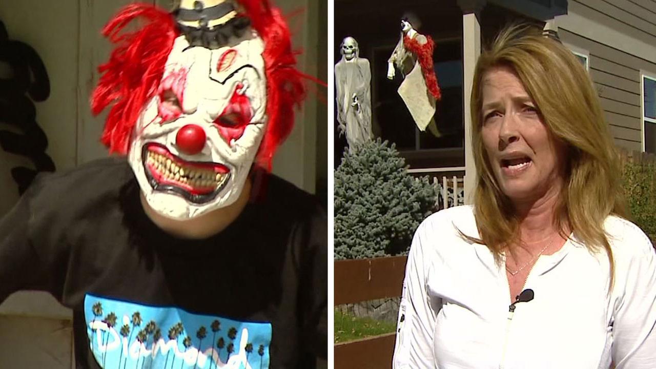 Halloween clown ban