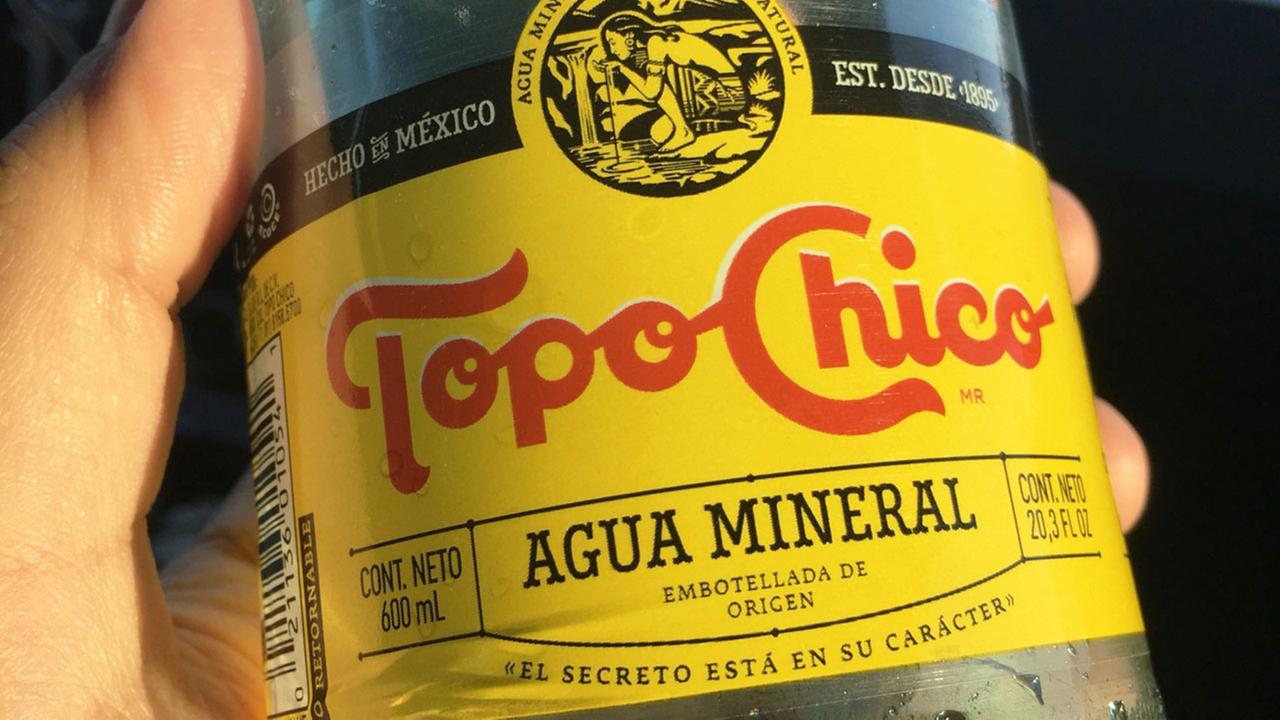 Topo Chico bottle