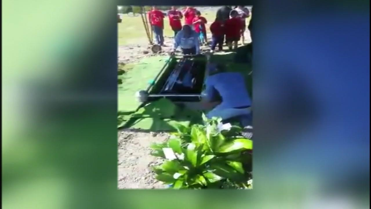 Family outraged over mishap at cemetery